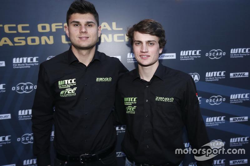 Daniel Nagy, Aurelien Panis, Honda Team Zengo, Honday Civic WTCC