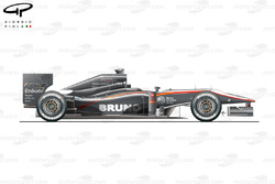 HRT F110 side view