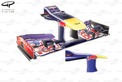 Red Bull RB9 front wing, medium downforce configuration