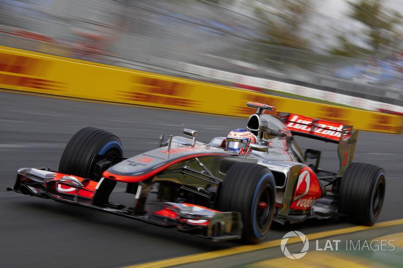 2012 : McLaren MP4-27, à moteur Mercedes