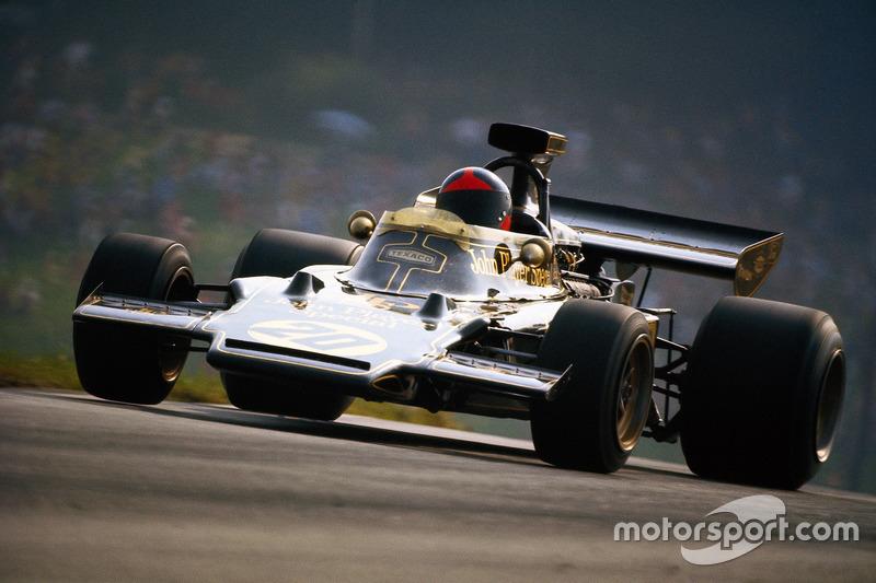 1972 - Emerson Fittipaldi, Lotus 72