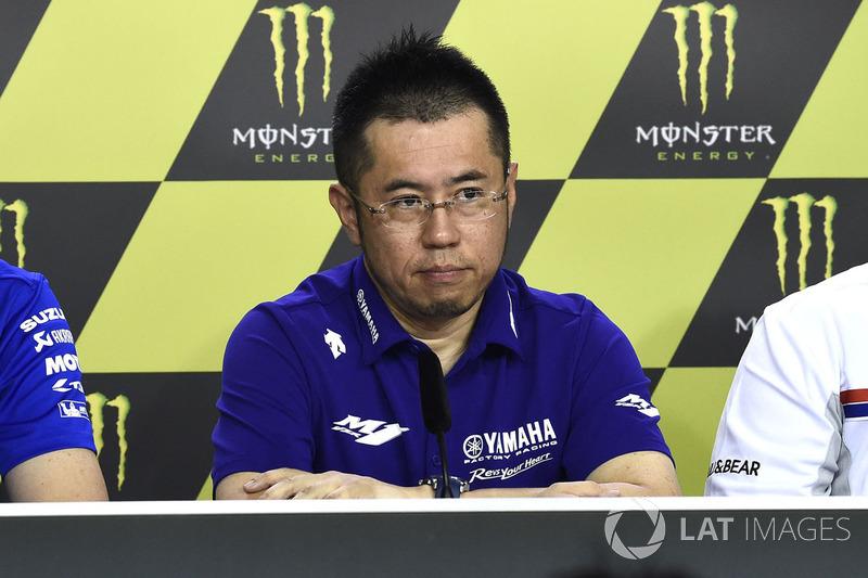 Коудзі Цуя, головний інженер проекту Yamaha  Factory Racing