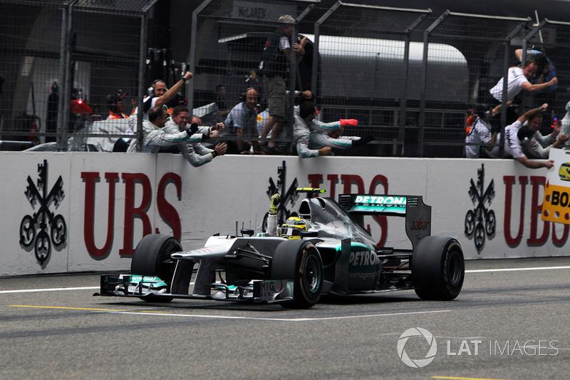 2012. Переможець: Ніко Росберг, Mercedes
