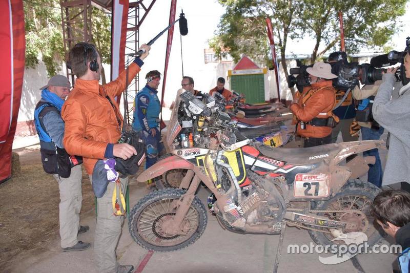 Адріен ван Беверен, Yamaha Official Rally Team