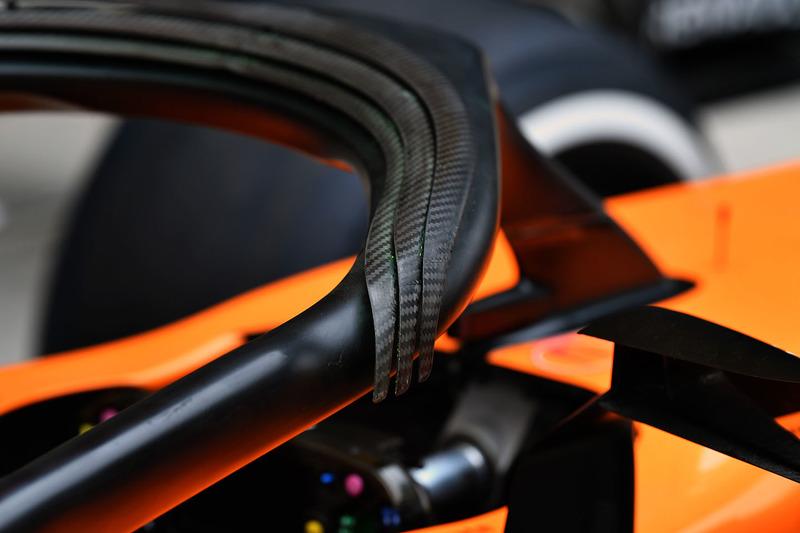 McLaren MCL33, Halo, részlet