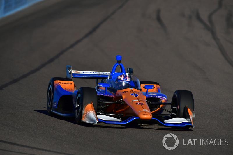 Scott Dixon, Chip Ganassi Racing Honda ön cam testi