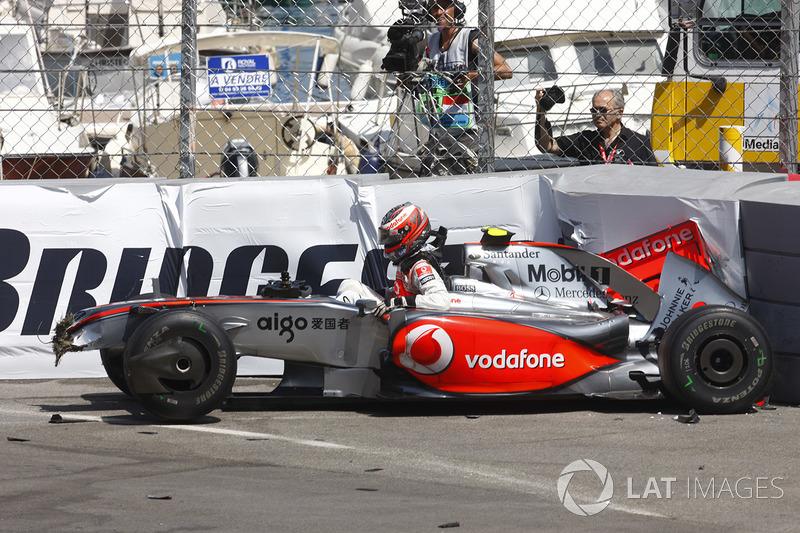 2009 - Crash à Monaco