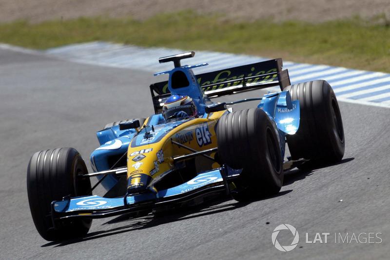 2004 - Essais avec Renault