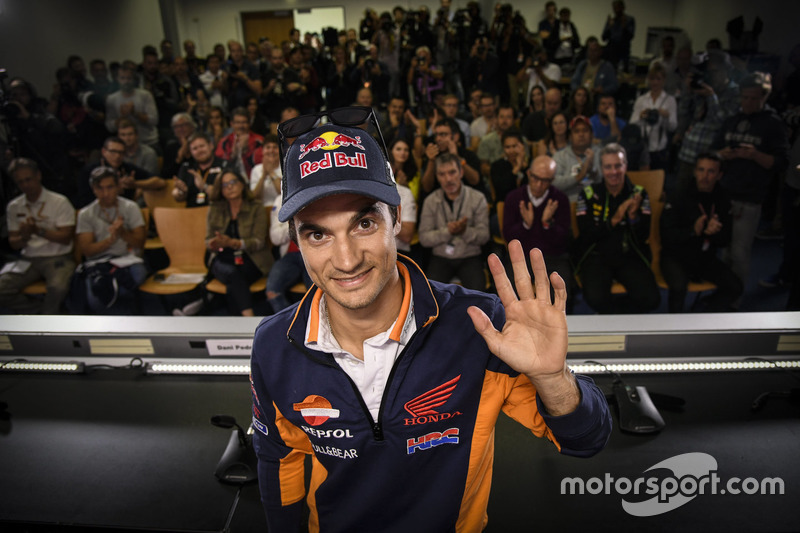 Dani Pedrosa, Repsol Honda Team press conference