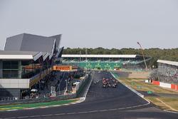 Pedro Piquet, Trident voor Giuliano Alesi, Trident en de rest bij de start