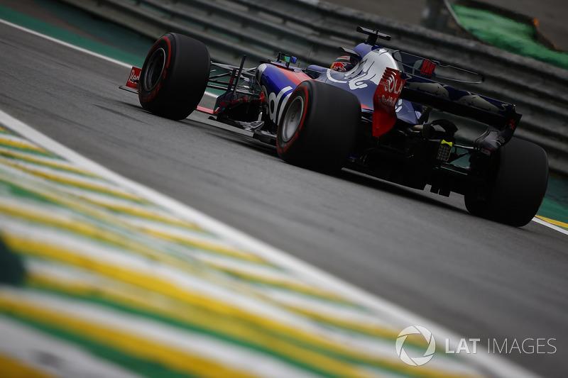 25 місце — Брендон Хартлі, Toro Rosso — 0
