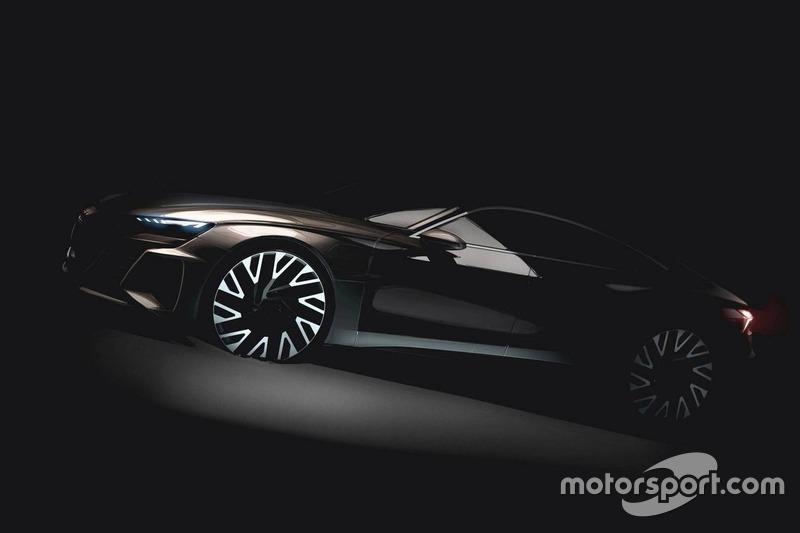 Прототип Audi e-tron GT