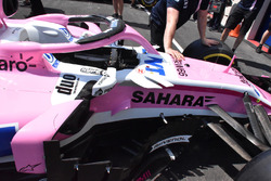 Cockpit del Force India VJM11