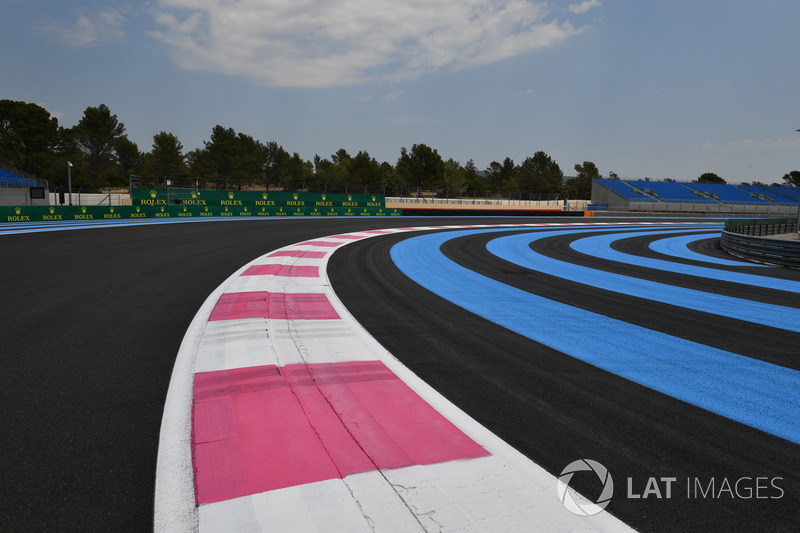 Dettaglio del circuito del Paul Ricard