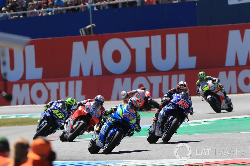 Alex Rins, Team Suzuki MotoGP, Maverick Viñales, Yamaha Factory Racing