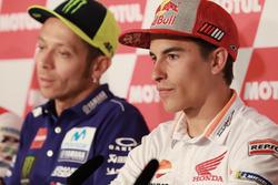 Press Conference, Marc Marquez, Repsol Honda Team, Valentino Rossi, Yamaha Factory Racing