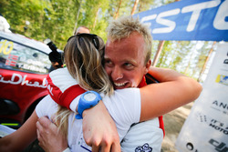 Second place Torstein Eriksen, Citroën World Rally Team