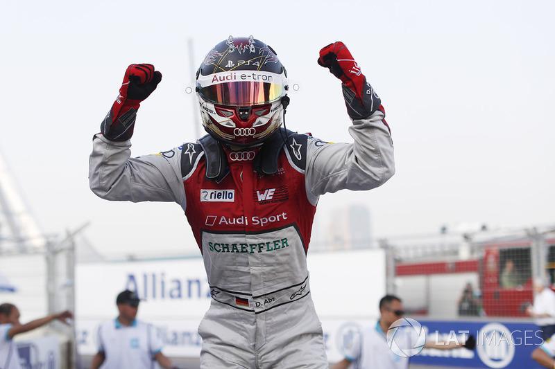 Ganador, Daniel Abt, Audi Sport ABT Schaeffler