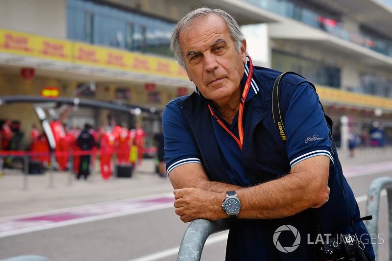 Giorgio Piola, pit alanında