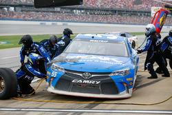 Michael Waltrip, BK Racing Toyota pit action