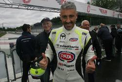 Il vincitore di Gara 1 Davide Uboldi, Eurointernational