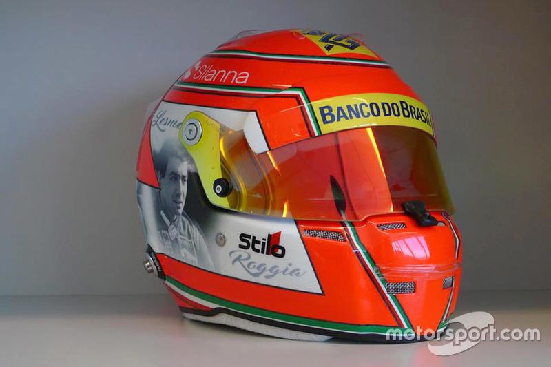 Casco di Felipe Nasr, Sauber