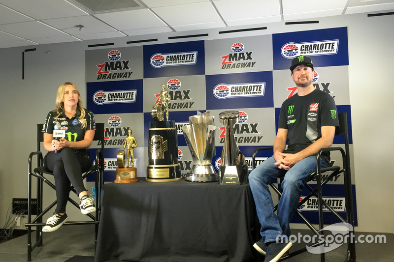 Brittany Force e Kurt Busch