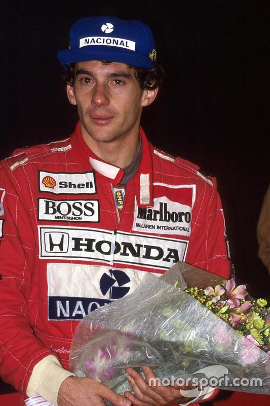 1991 világbajnoka, Ayrton Senna, McLaren Honda