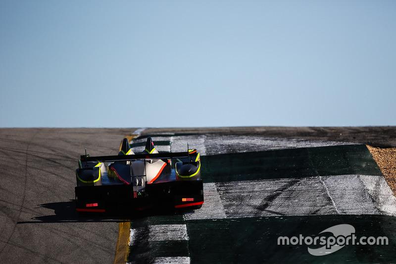#52 PR1 Mathiasen Motorsports, ORECA FLM09: Robert Alon, Tom Kimber-Smith, Jose Gutierrez