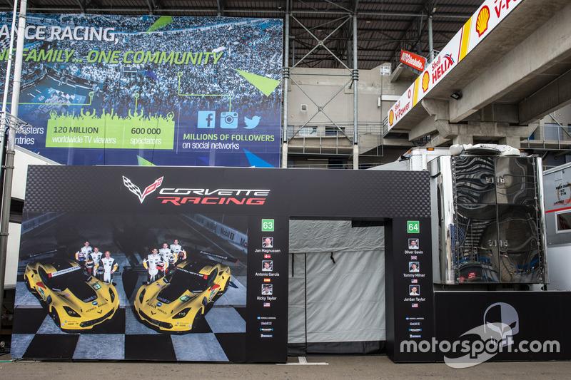 Зона Corvette Racing