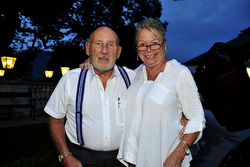 Sir Stirling Moss und Lady Susy Moss