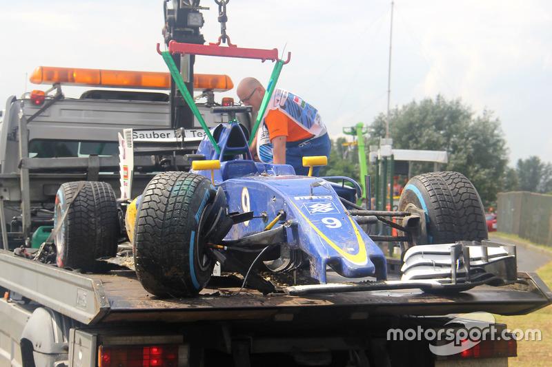 Car of Marcus Ericsson, Sauber C35