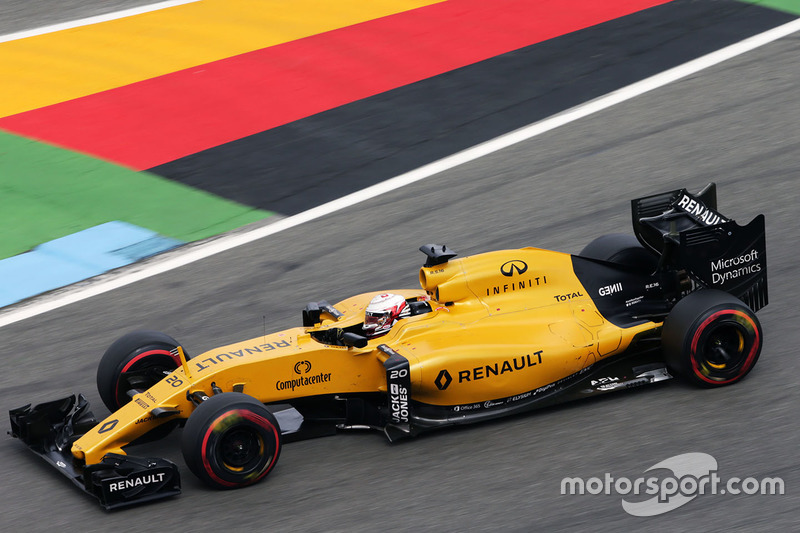 16. Kevin Magnussen, Renault Sport F1 Team