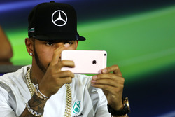 Lewis Hamilton, Mercedes AMG F1 Team during the press conference