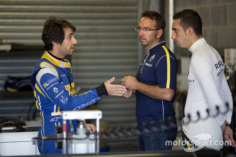 Nicolas Prost, Renault e.Dams, e Sébastien Buemi, Renault e.Dams
