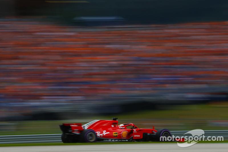 Sebastian Vettel fechou o pódio na Áustria