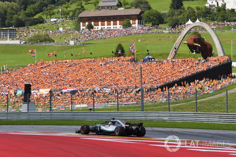 El británico ha abandonado en 26 ocasiones, 18 con McLaren y 8 con Mercedes. El último abandono fue en el GP de Austria de este año.