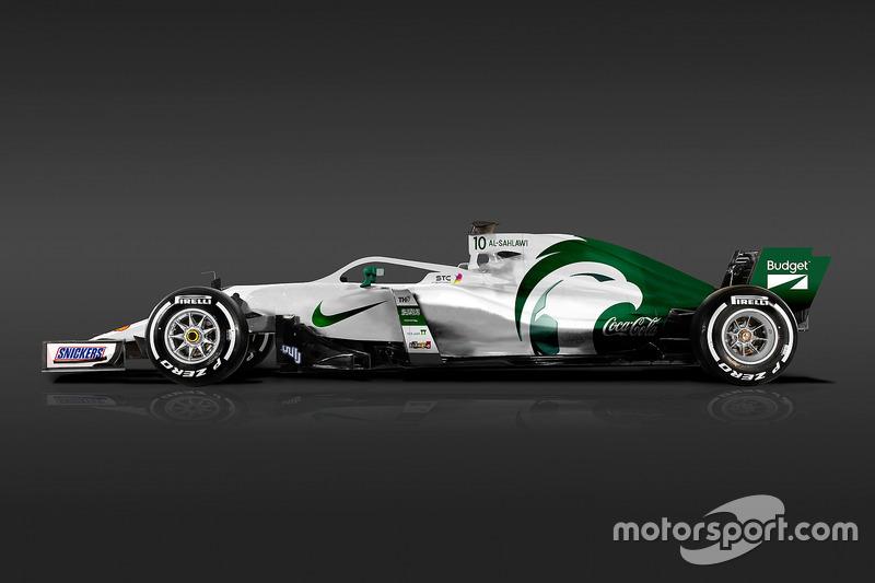 Formula 1 Dünya Kupası tasarımları - Suudi Arabistan