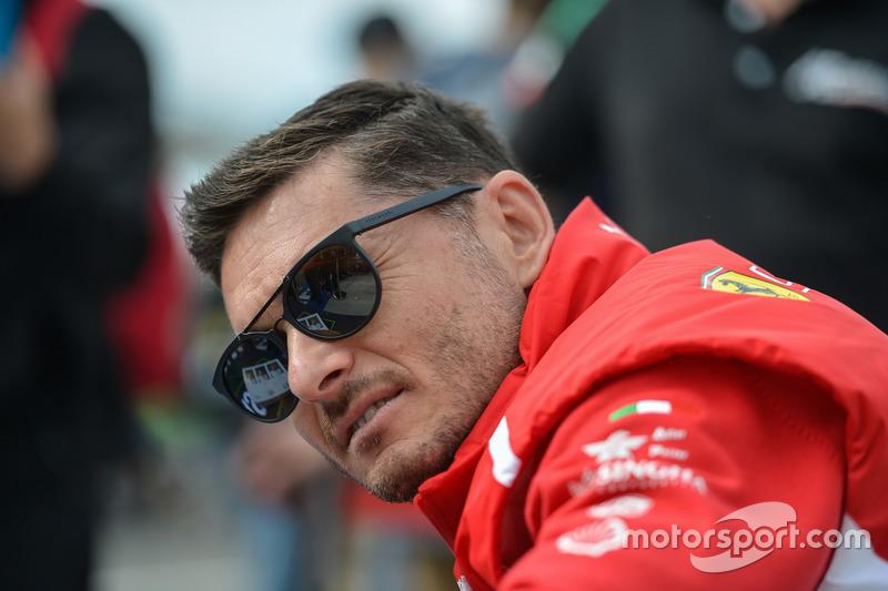 #54 Spirit of Race Ferrari 488 GTE: Giancarlo Fisichella