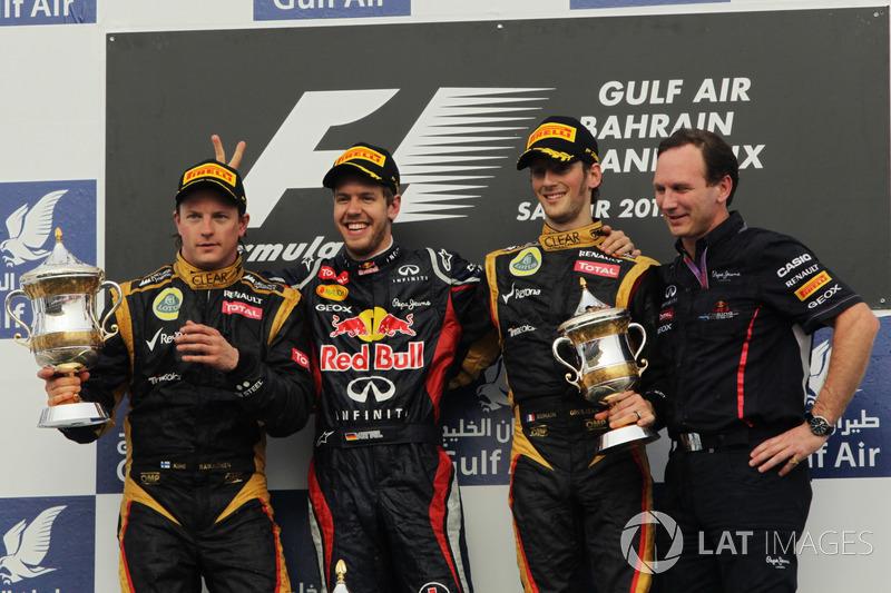 Até 7 GPs para o fim da temporada de 2012, Vettel tinha apenas vencido uma prova, no Bahrein.