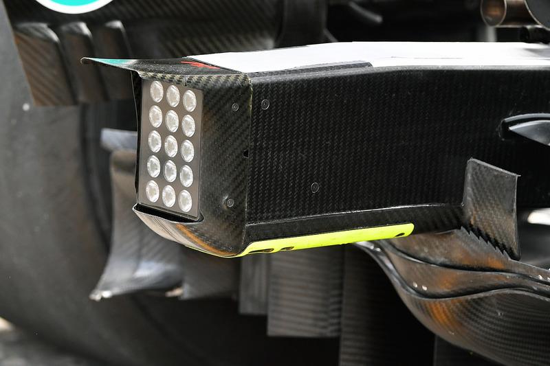 Mercedes-AMG F1 W09 rear detail