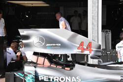 Mercedes AMG-F1 W09 soğutma girişi