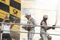 Podium: Marco Wittmann, BMW Team RMG, BMW M4 DTM, Stefan Reinhold, Team principal BMW Team RMG and R