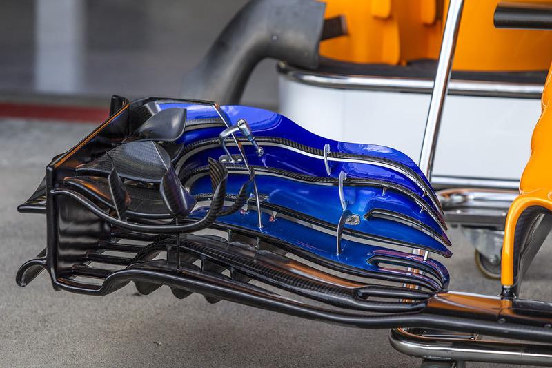 McLaren MCL33: Frontflügel