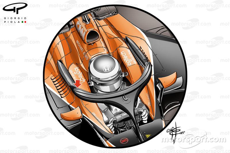 Halo de la McLaren MCL32 (2017)