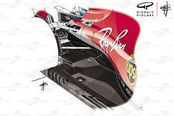 Днище Ferrari SF71H, Гран При Великобритании