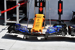 McLaren MCL33 nariz y alas delanteras