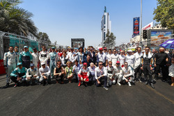 Foto met Jean Todt, FIA President, adn Alejandro Agag, Formula E CEO