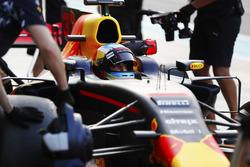 Daniel Ricciardo, Red Bull Racing, pit stop