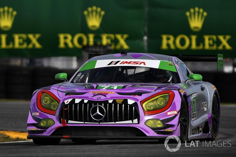 #71 P1 Motorsports Mercedes AMG GT3, GTD: Kenton Koch, Robert Foley III, Juan Perez, Loris Spinelli